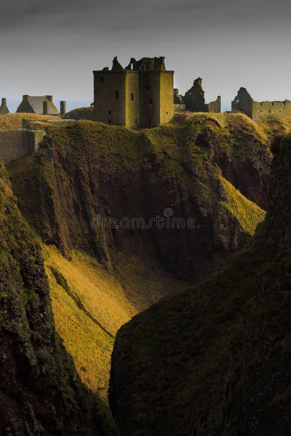 κάστρο dunnottar στοκ εικόνες