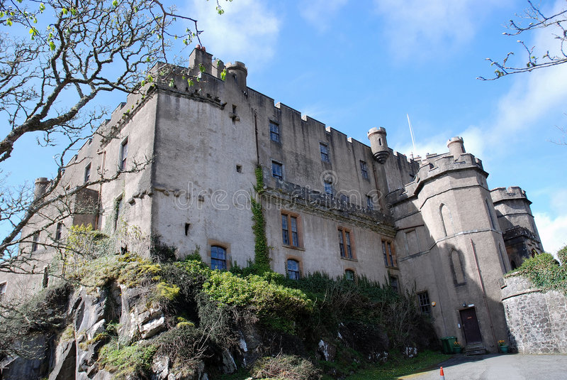 κάστρο dunvegan στοκ φωτογραφία με δικαίωμα ελεύθερης χρήσης