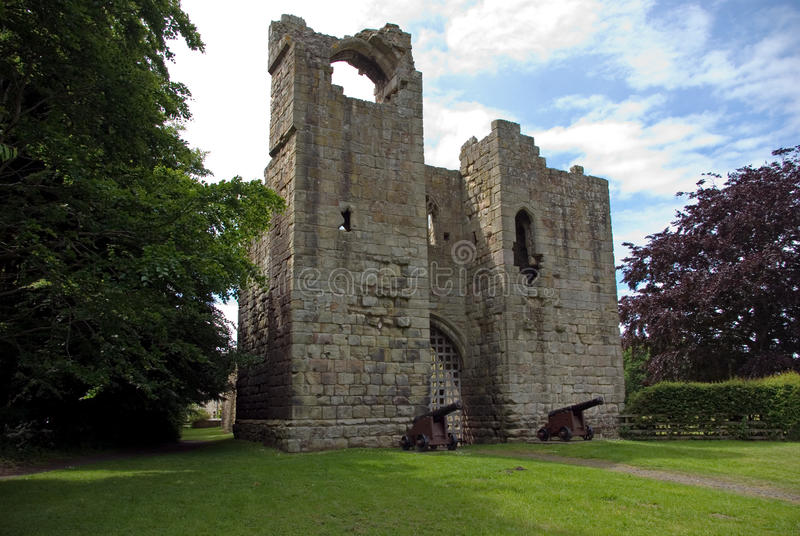 κάστρο gatehouse και λοιποί στοκ φωτογραφίες με δικαίωμα ελεύθερης χρήσης