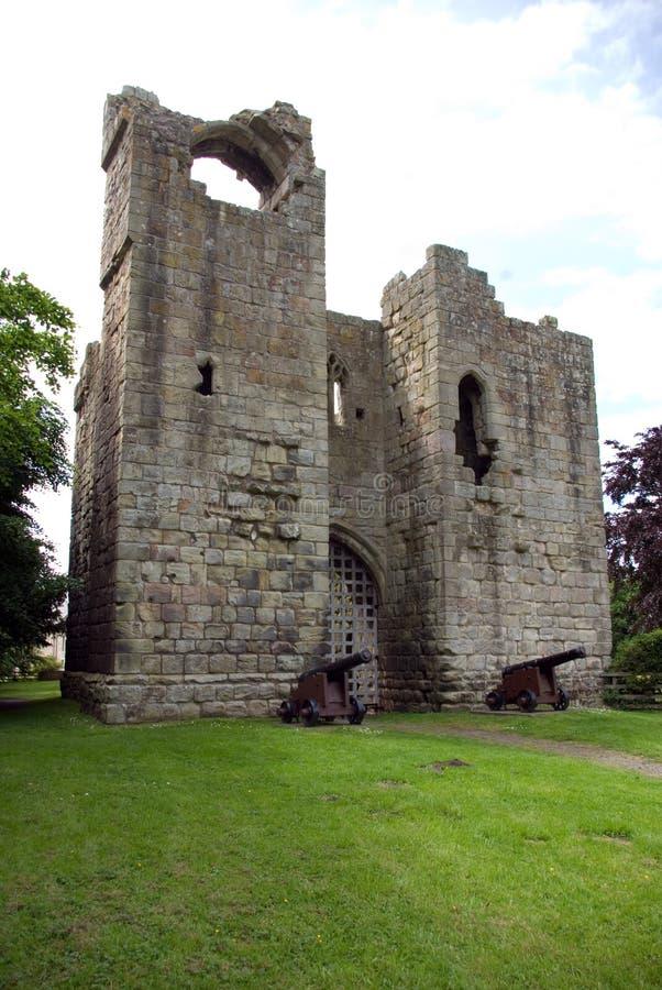 κάστρο gatehouse και λοιποί στοκ φωτογραφίες