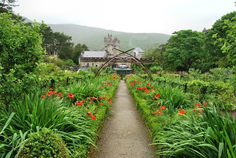 Κάστρο Glenveagh στοκ εικόνες