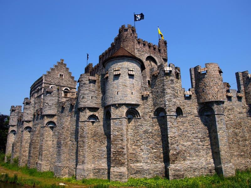 Κάστρο Gravensteen στοκ εικόνα