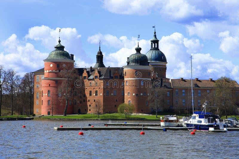 Κάστρο Gripsholm, Mariefred, Σουηδία στοκ εικόνα