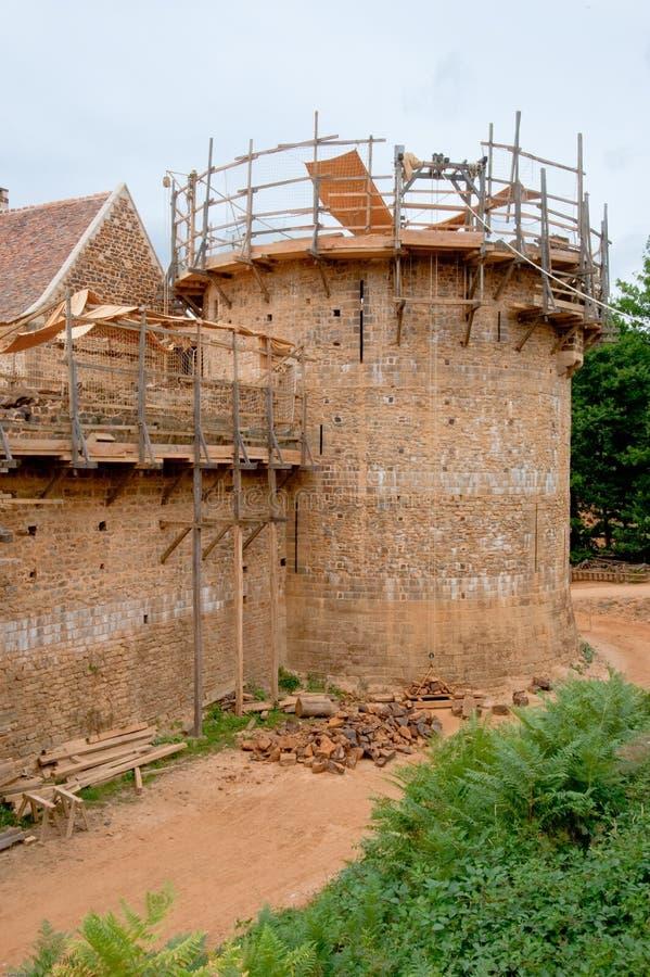 κάστρο guedelon στοκ εικόνες με δικαίωμα ελεύθερης χρήσης