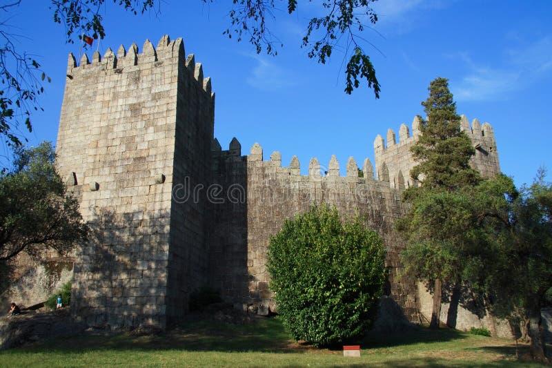 κάστρο Guimaraes στοκ εικόνες