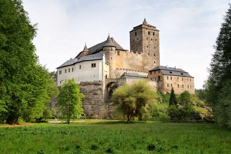 κάστρο hrad kost στοκ εικόνες
