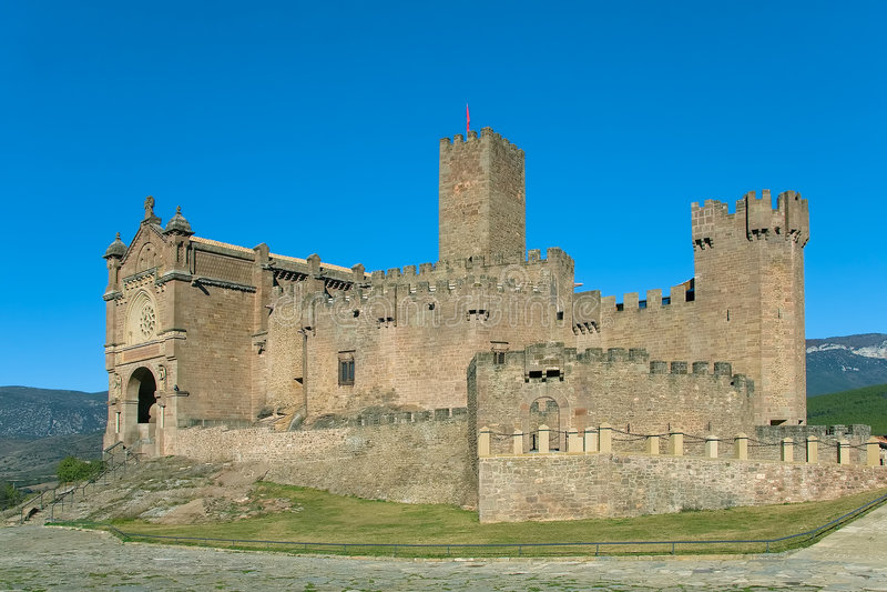 κάστρο Javier s στοκ εικόνα