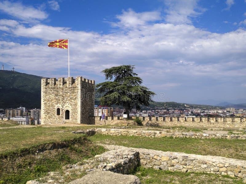 Κάστρο Keller στο skopje, Μακεδονία στοκ εικόνες