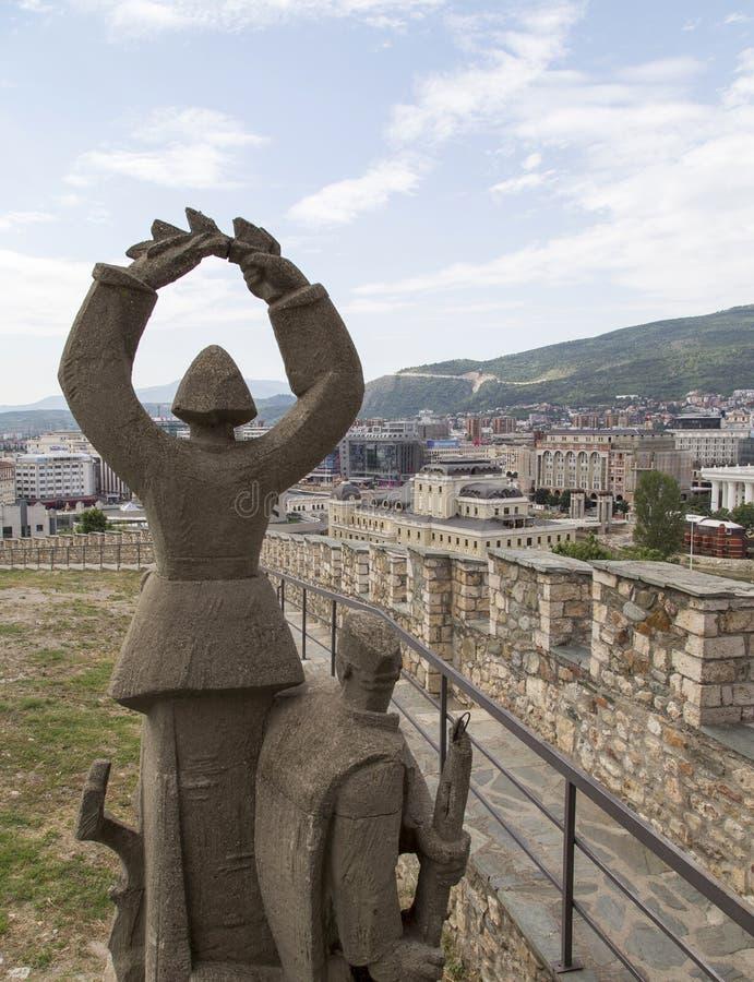 Κάστρο Keller στο skopje, Μακεδονία στοκ εικόνα με δικαίωμα ελεύθερης χρήσης