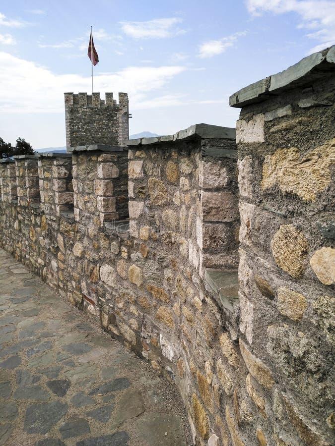 Κάστρο Keller στο skopje, Μακεδονία στοκ φωτογραφία