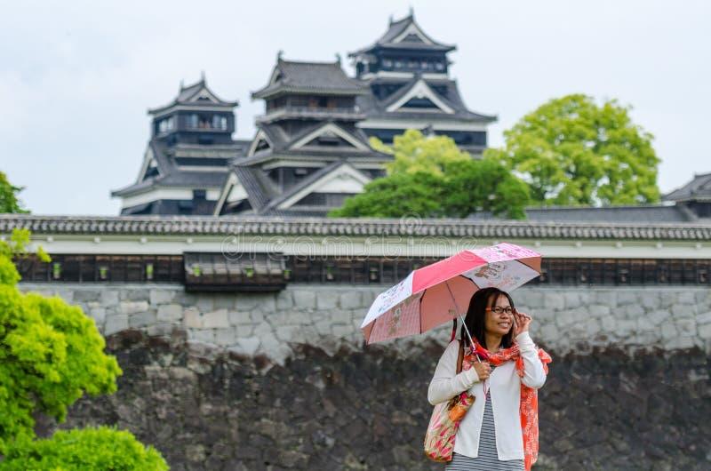 Κάστρο Kumamoto στοκ εικόνα με δικαίωμα ελεύθερης χρήσης