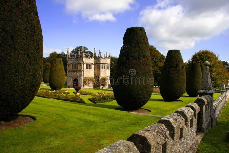 κάστρο lanhydrock UK στοκ εικόνα