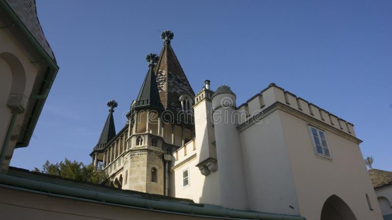 Κάστρο Laxenburg από μέσα στοκ φωτογραφία με δικαίωμα ελεύθερης χρήσης