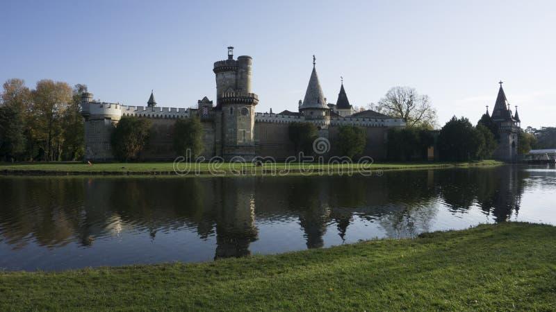 Κάστρο Laxenburg στη θάλασσα στοκ εικόνα με δικαίωμα ελεύθερης χρήσης