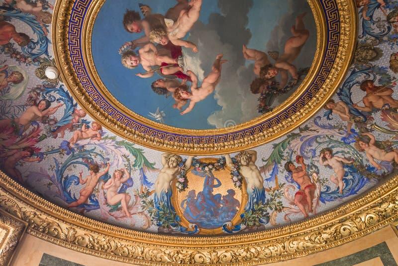 Κάστρο LE vicomte Vaux, Maincy, Γαλλία στοκ φωτογραφίες με δικαίωμα ελεύθερης χρήσης
