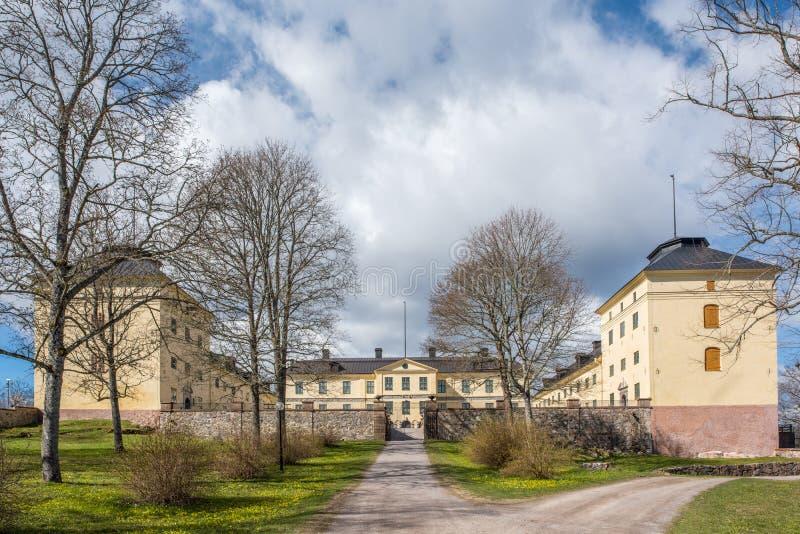 Κάστρο Lofstad, Σουηδία στοκ εικόνα