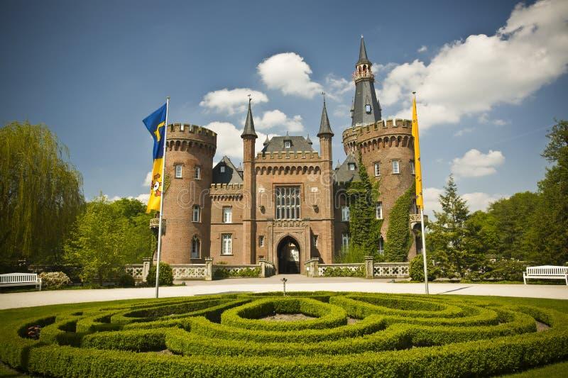 κάστρο moyland στοκ εικόνες με δικαίωμα ελεύθερης χρήσης