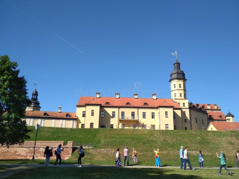 Κάστρο Nesvizh στοκ φωτογραφία με δικαίωμα ελεύθερης χρήσης