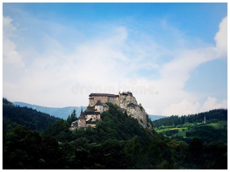 Κάστρο Orava στοκ φωτογραφίες με δικαίωμα ελεύθερης χρήσης