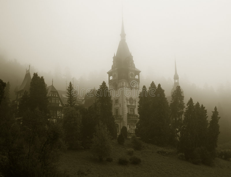κάστρο peles Ρουμανία στοκ εικόνες με δικαίωμα ελεύθερης χρήσης