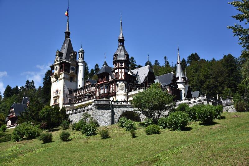 Κάστρο Peles στοκ φωτογραφία