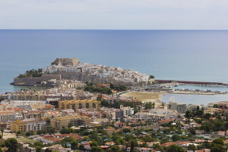Κάστρο Peniscola στοκ εικόνα με δικαίωμα ελεύθερης χρήσης
