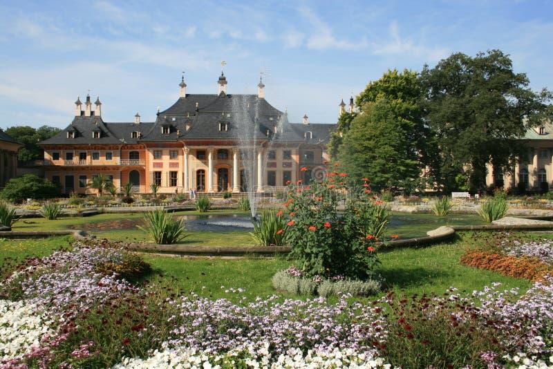 κάστρο pillnitz στοκ φωτογραφία με δικαίωμα ελεύθερης χρήσης