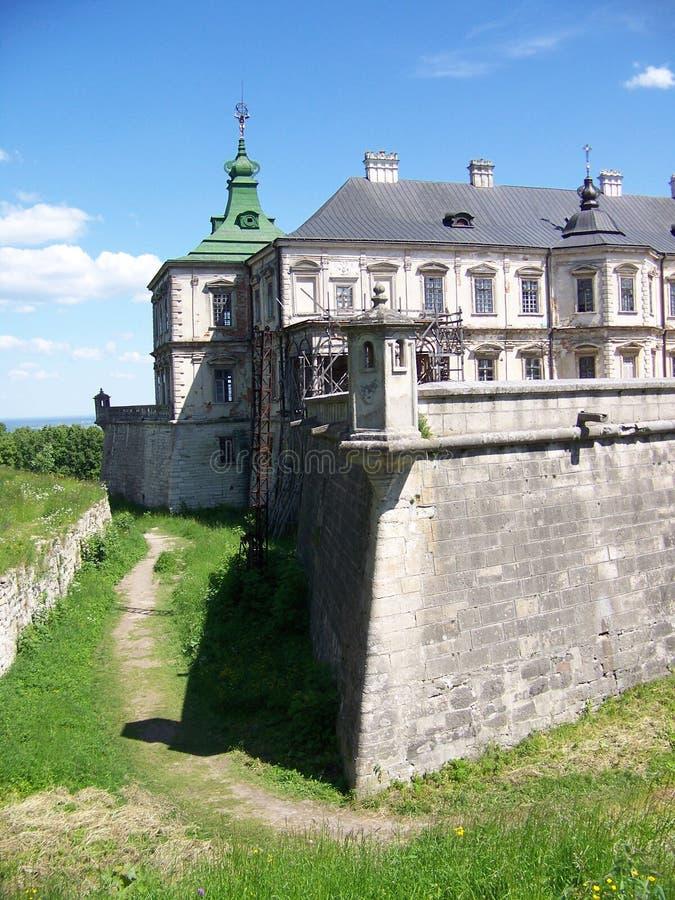 κάστρο podhorce στοκ φωτογραφίες με δικαίωμα ελεύθερης χρήσης