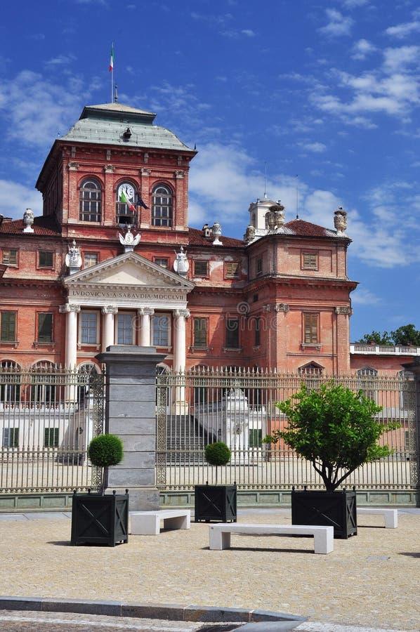 Κάστρο Racconigi, βασιλική κατοικία κραμπολάχανου, Πιεμόντε, Ιταλία στοκ φωτογραφία