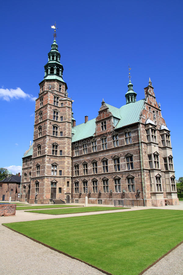 κάστρο rosenborg στοκ φωτογραφία με δικαίωμα ελεύθερης χρήσης