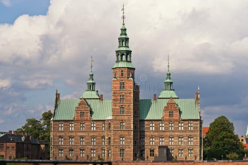 κάστρο rosenborg στοκ φωτογραφίες