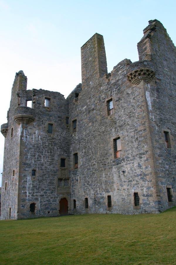 κάστρο scalloway στοκ φωτογραφία με δικαίωμα ελεύθερης χρήσης