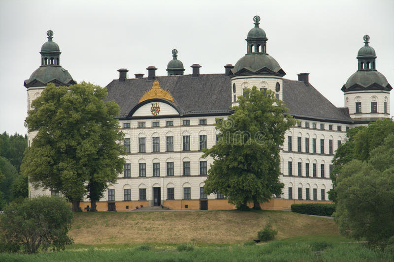 κάστρο skokloster στοκ φωτογραφία