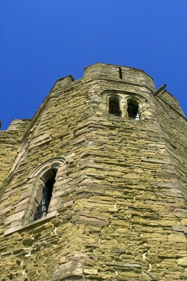 κάστρο stokesay στοκ φωτογραφία
