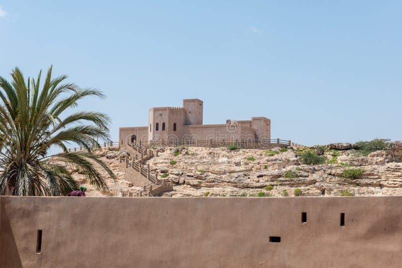 Κάστρο Taqah, Dhofar (Ομάν) στοκ εικόνες με δικαίωμα ελεύθερης χρήσης