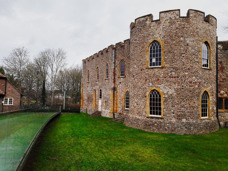 Κάστρο Taunton, UK στοκ εικόνα με δικαίωμα ελεύθερης χρήσης