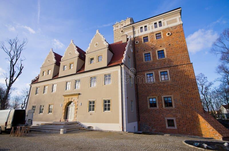 Κάστρο Topacz στη χαμηλότερη Σιλεσία στοκ φωτογραφίες με δικαίωμα ελεύθερης χρήσης