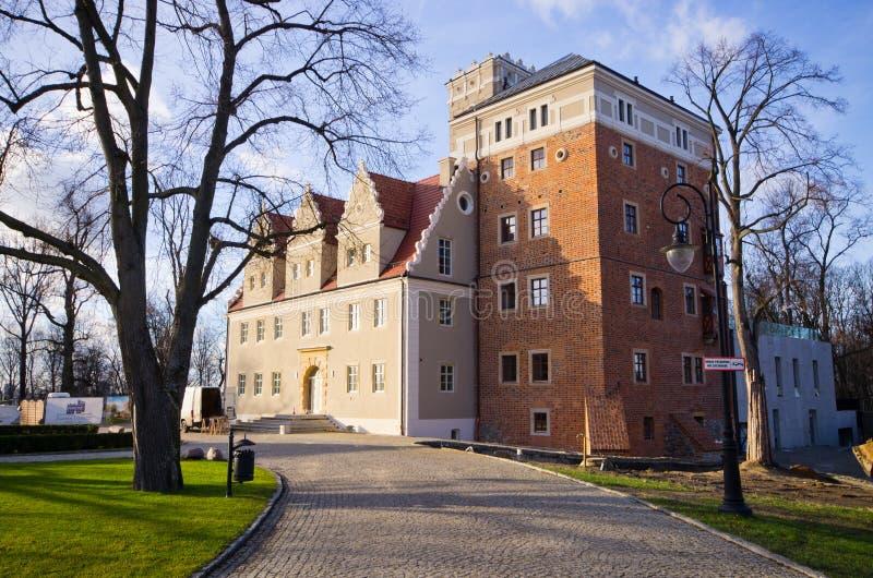 Κάστρο Topacz στη χαμηλότερη Σιλεσία στοκ εικόνα