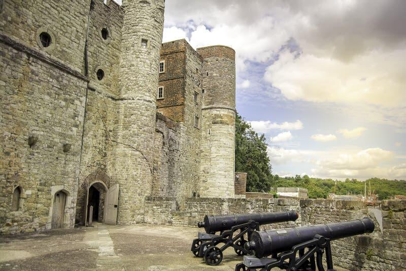 Κάστρο Upnor στοκ εικόνες