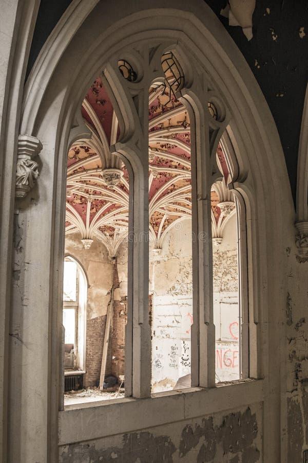 Κάστρο Urbex στοκ εικόνες