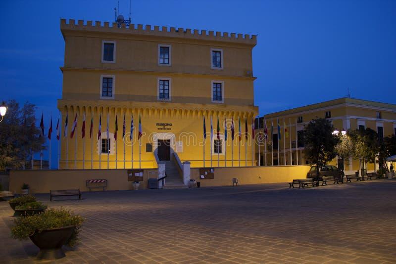 Κάστρο Ventotene στοκ εικόνα