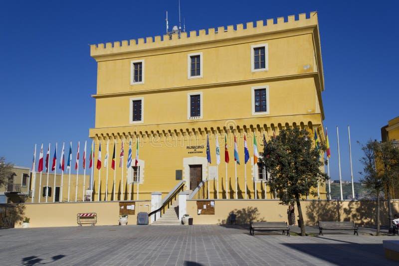 Κάστρο Ventotene στοκ φωτογραφίες με δικαίωμα ελεύθερης χρήσης