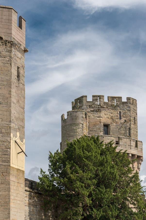 κάστρο warwick στοκ φωτογραφία με δικαίωμα ελεύθερης χρήσης
