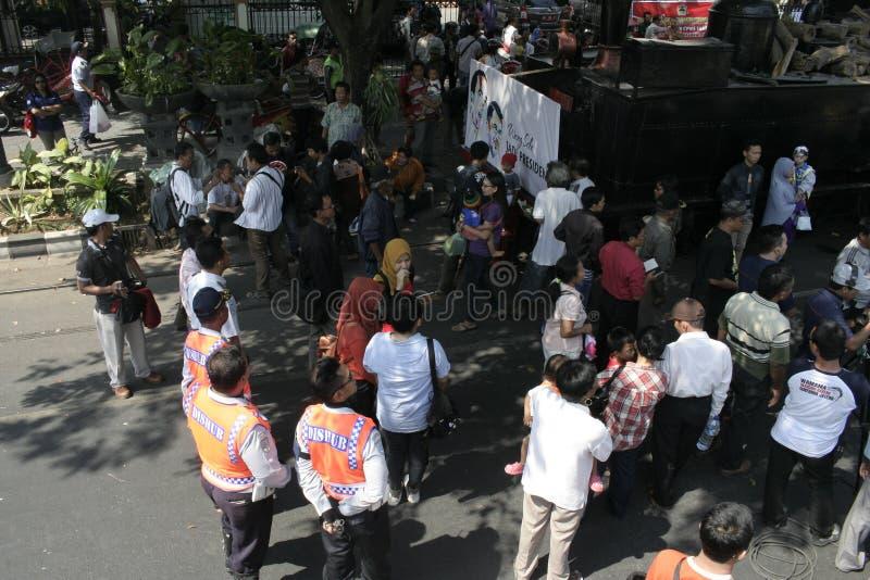Download Κάτοικοι ημέρας των ευχαριστιών στην εκλογή του Προέδρου της Ινδονησίας Joko Widodo Εκδοτική Στοκ Εικόνες - εικόνα από παρουσίας, εκλογή: 62711098
