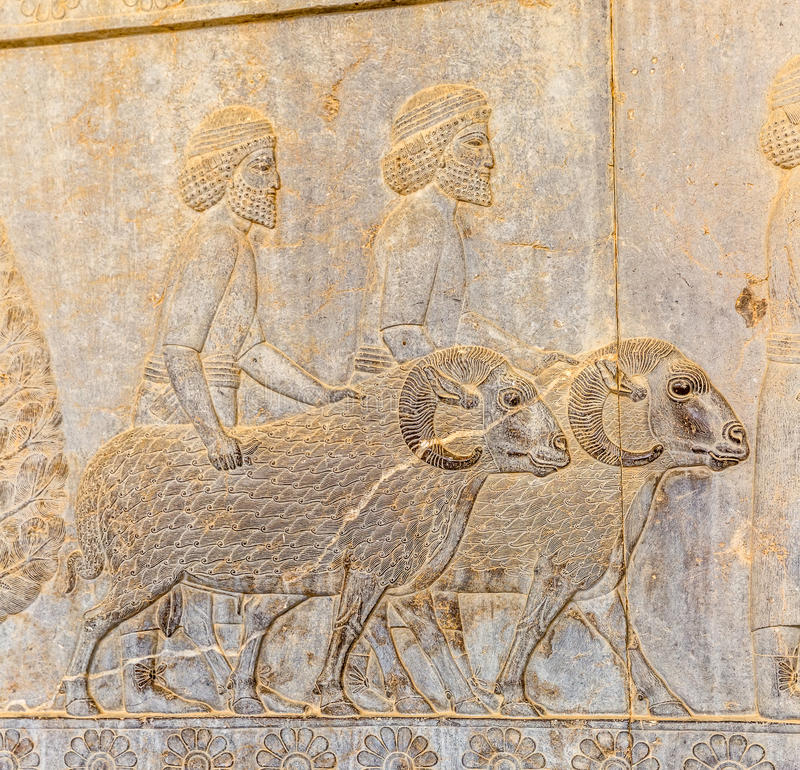 Κάτοικοι της ιστορικής αυτοκρατορίας με τα ζώα μέσα στοκ φωτογραφίες με δικαίωμα ελεύθερης χρήσης