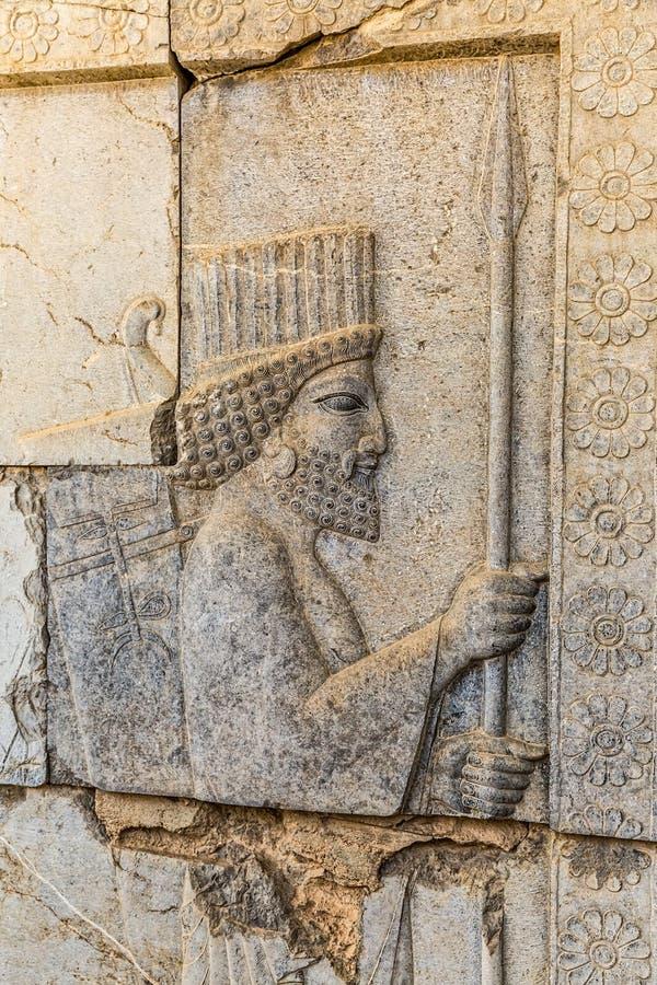 Κάτοικοι της ιστορικής αυτοκρατορίας σε Persepolis στοκ φωτογραφία με δικαίωμα ελεύθερης χρήσης