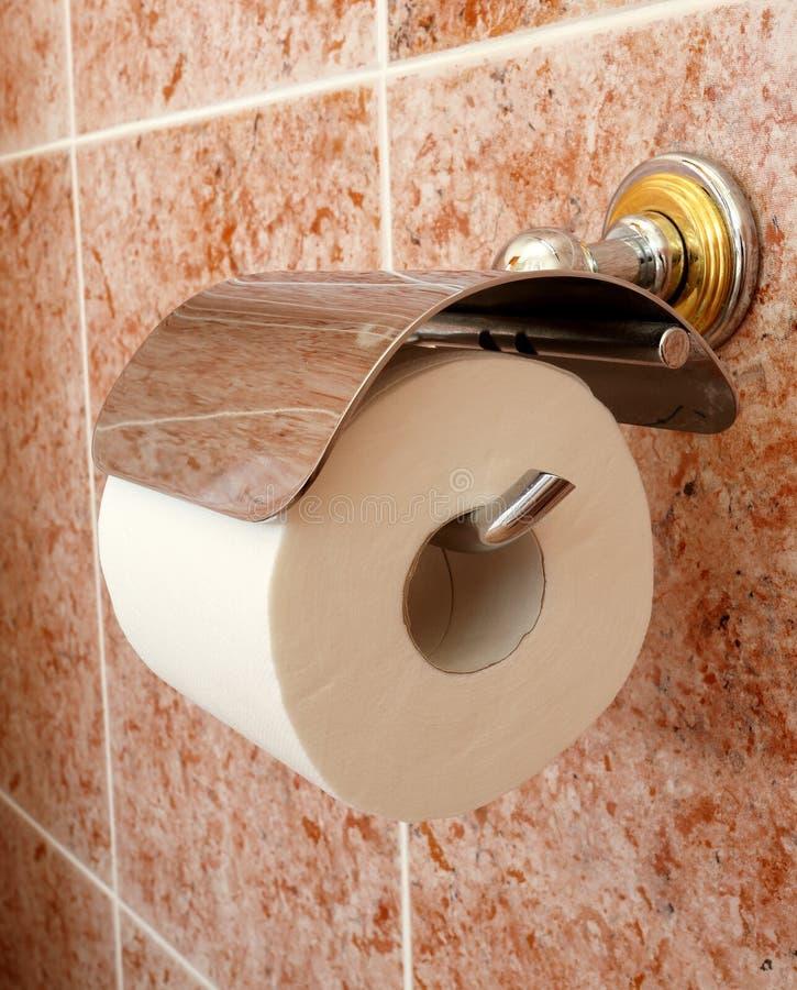 Κάτοχος ρόλων τουαλετών Δωρεάν Στοκ Φωτογραφίες