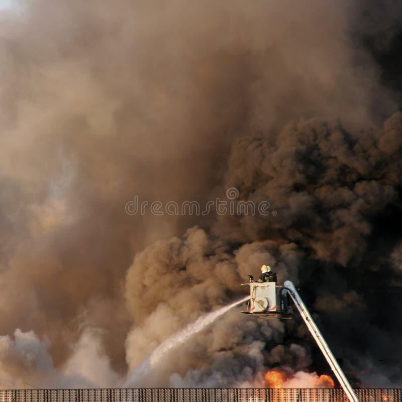 κάτω από την τοποθέτηση πυρ&kapp στοκ εικόνες