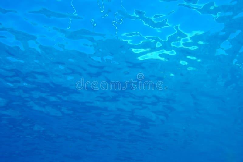 κάτω από τη σύσταση θάλασσα& στοκ εικόνες με δικαίωμα ελεύθερης χρήσης
