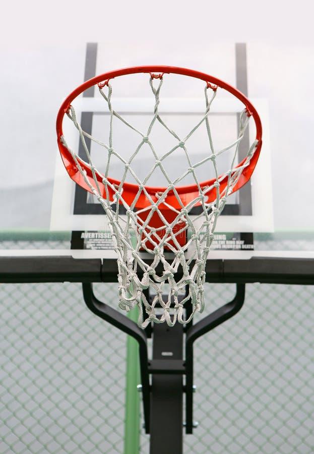 Κάτω από το καλάθι καλαθοσφαίρισης στοκ φωτογραφία με δικαίωμα ελεύθερης χρήσης
